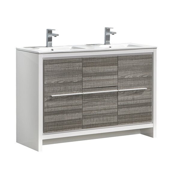 Trieste Allier Rio 47 Double Bathroom Vanity Set by Fresca