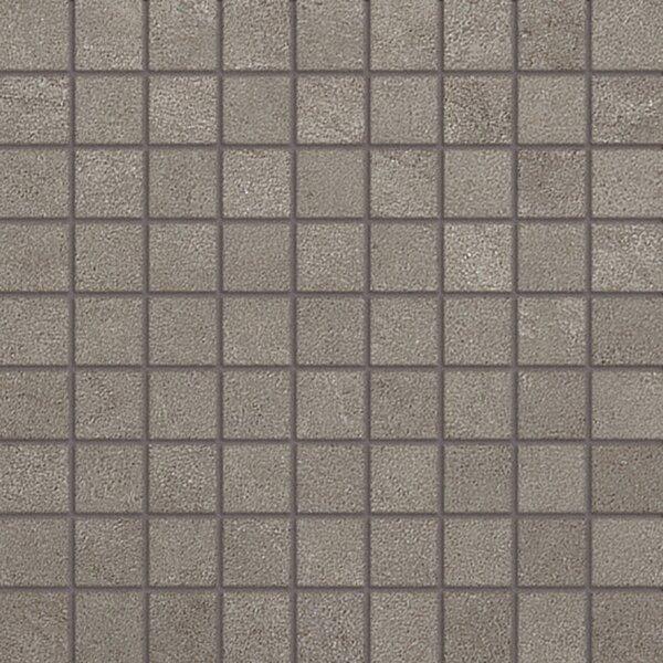 Genesis Loft Porcelain Matte Mosaic Tile in Mineral by Samson
