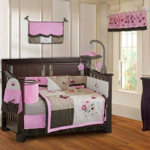 Compare & Buy Slack Blossom 10 Piece Crib Bedding Set ByHarriet Bee