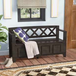 Compare prices Amherst Wood Storage Bench By Simpli Home