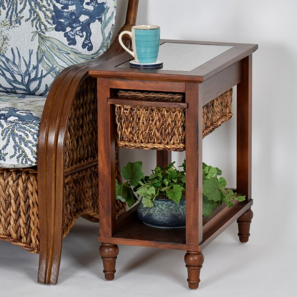 Ewart Chairside End Table By Bay Isle Home