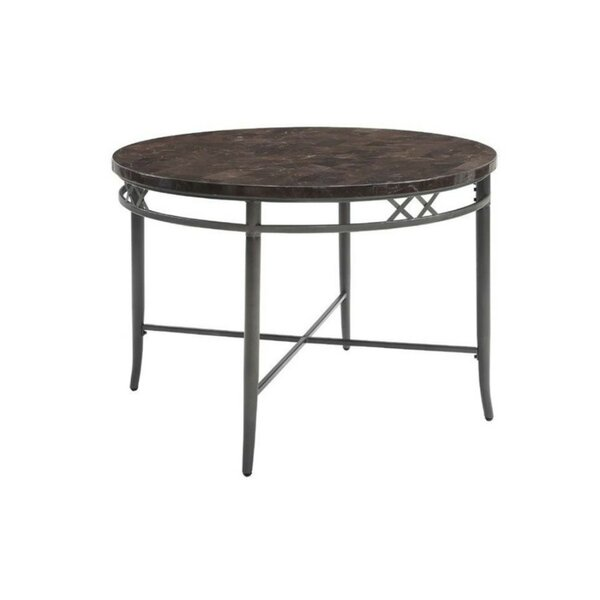 Statesboro Metal Frame Dining Table by Fleur De Lis Living