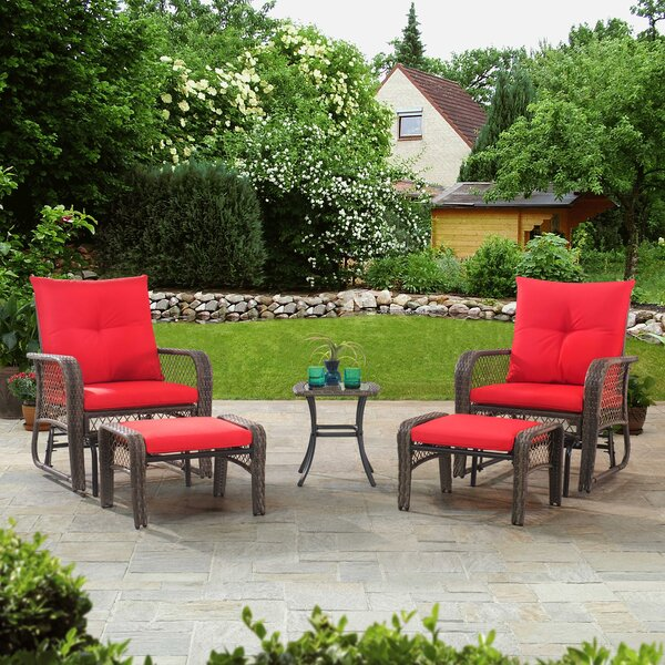Maksian 5 Piece Seating Group with Cushions