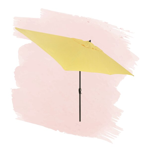 Solid 6.5' X 10' Rectangular Market Umbrella By Foundstone by Foundstone Top Reviews