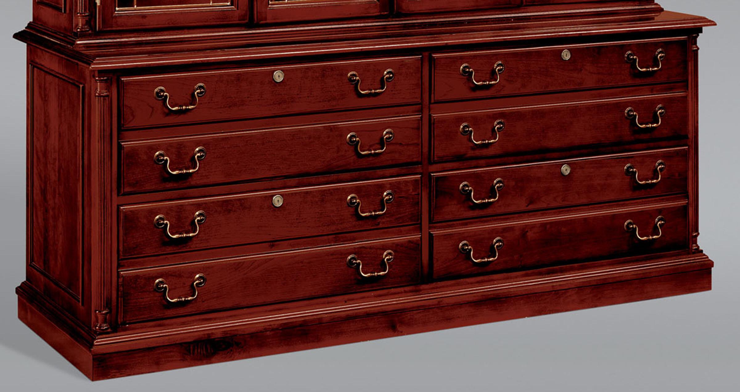 La Credenza Supplier : Darby home co prestbury drawer lateral file credenza cabinet