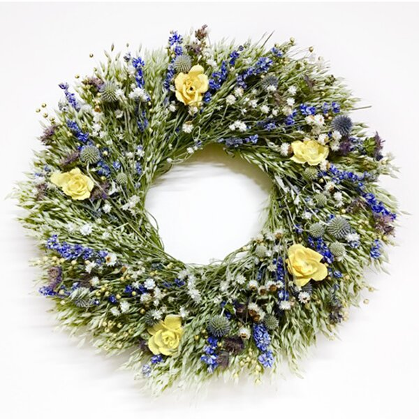 Fields of Wonder 22 Wreath by Dried Flowers and Wreaths LLC