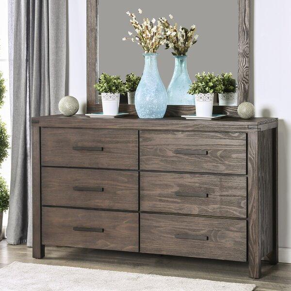 Kensett 6 Drawer Double Dresser by Loon Peak