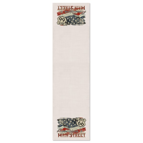 Robert American Table Runner by Red Barrel Studio