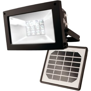 Savings Solar Powered 12-Light Outdoor Floodlight By Symple Stuff