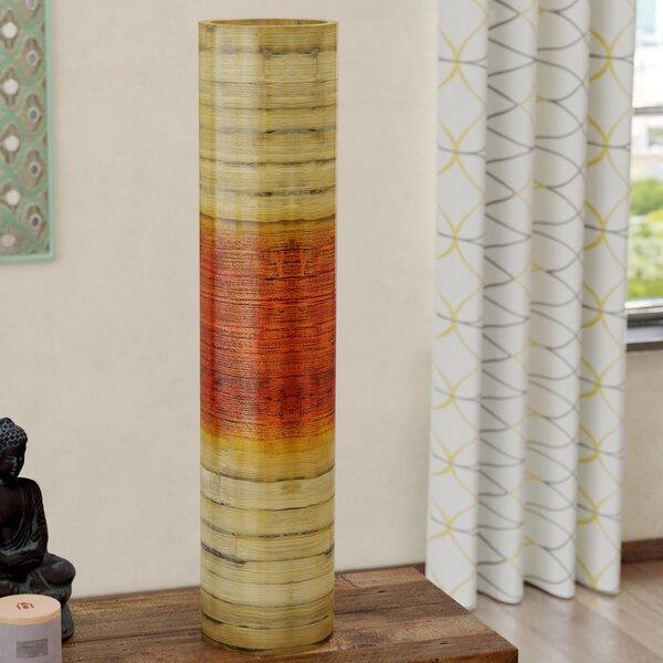 Eagle Harmor Bamboo Floor Vase by Bloomsbury Market