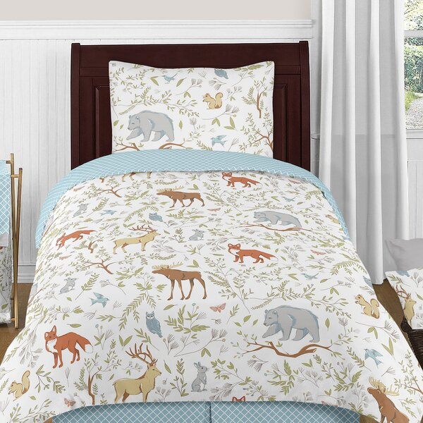 Woodland Toile Comforter Set by Sweet Jojo Designs