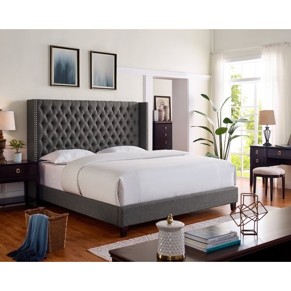 Ackerson Upholstered Platform Bed by Darby Home Co