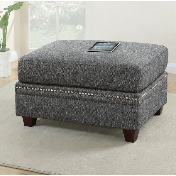 Mangume Cocktail Tufted Standard Ottoman by House of Hampton
