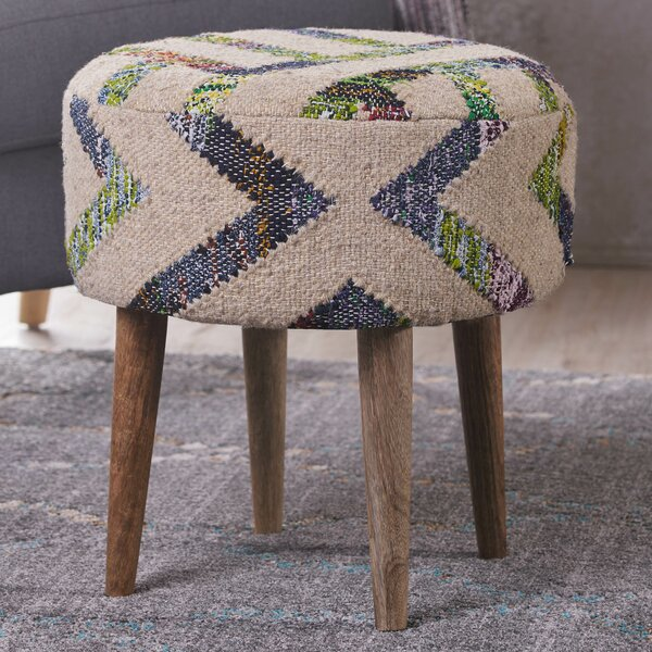 Oujda Vanity Stool by Bungalow Rose