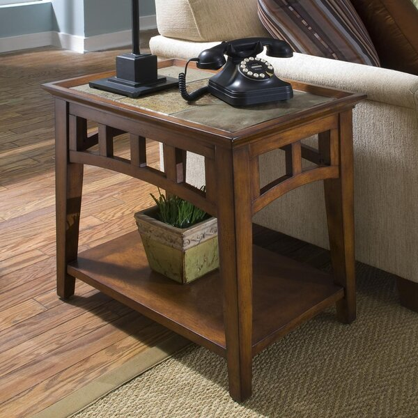 Veloz End Table by Millwood Pines