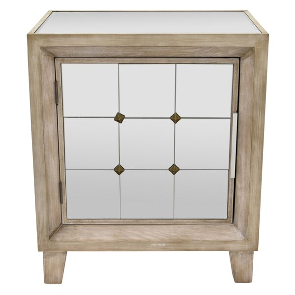Alexys Wood 1 Door Accent Cabinet by One Allium Way