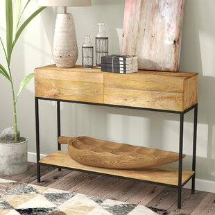 Buy clear Sterner Console Table By Union Rustic