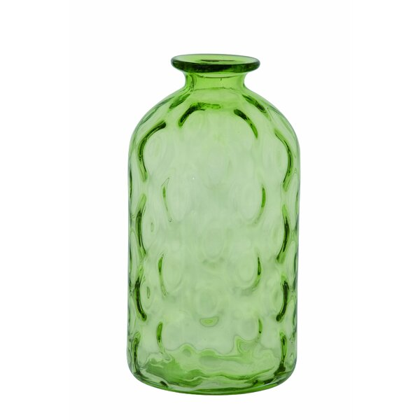 Maribeth Glass Spring Bubble Table Vase by Highland Dunes