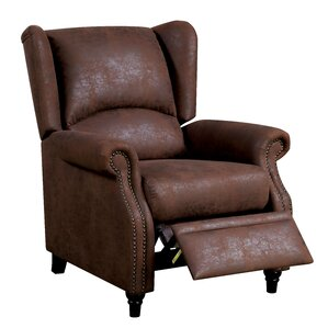 Damon Manual Recliner by Red Barrel St..