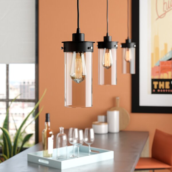 Millet 3-Light Kitchen Island Pendant by Brayden Studio