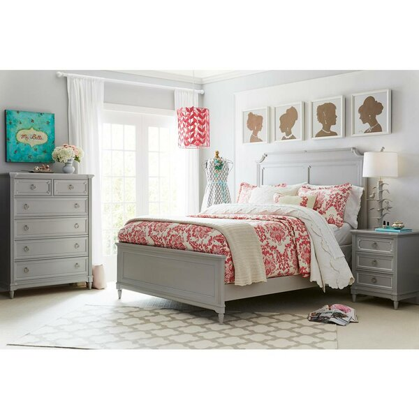 Clementine Court Panel Bed by Stone & Leigh™ Furniture