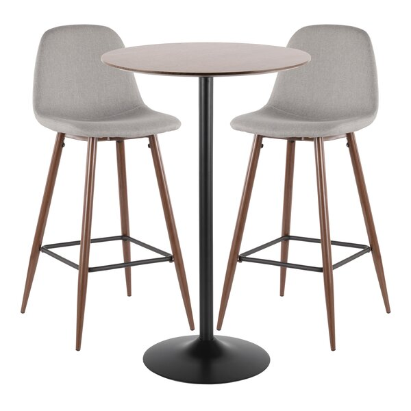 Blaisdell 3 Piece Pub Table Set by Latitude Run