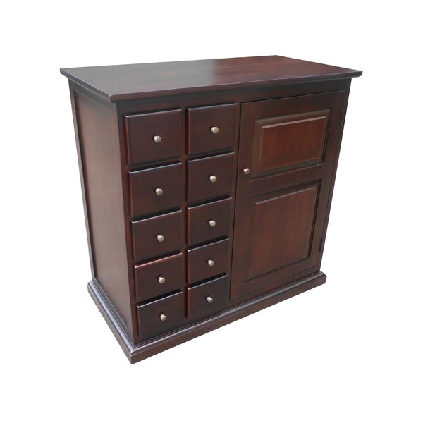 Truxton 10 Drawer 1 Door Accent Cabinet by Darby Home Co