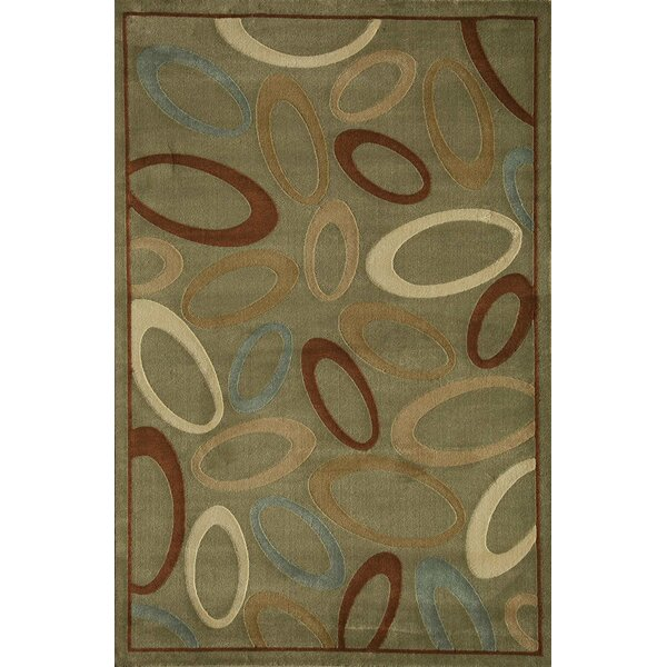 Jordan Light Green Area Rug by Threadbind