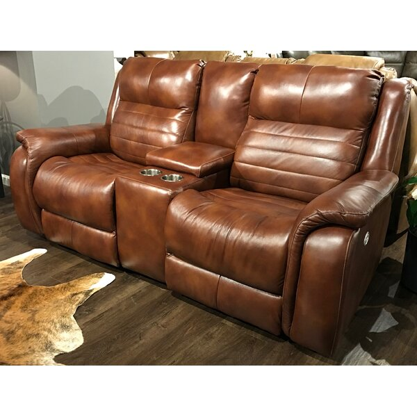 Essex Leather Reclining Loveseat by Southern Motion Southern Motion