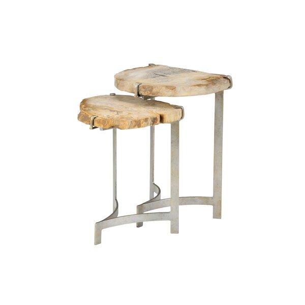 Bedrock 2 Piece Nesting Tables By Wildwood