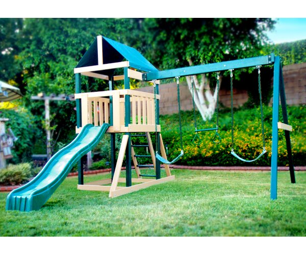 Congo Safari Play System Swing Set by Kidwise