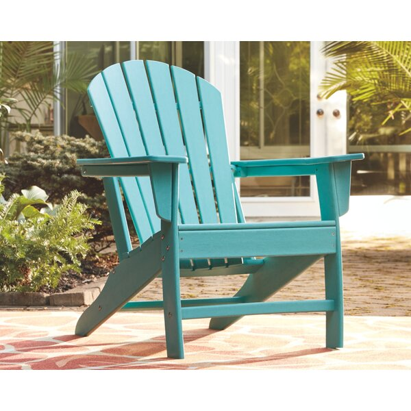 Lupe Plastic Adirondack Chair by Highland Dunes Highland Dunes