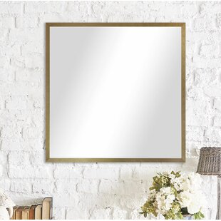 Latitude Run Whitworth Metal Framed Accent Mirror