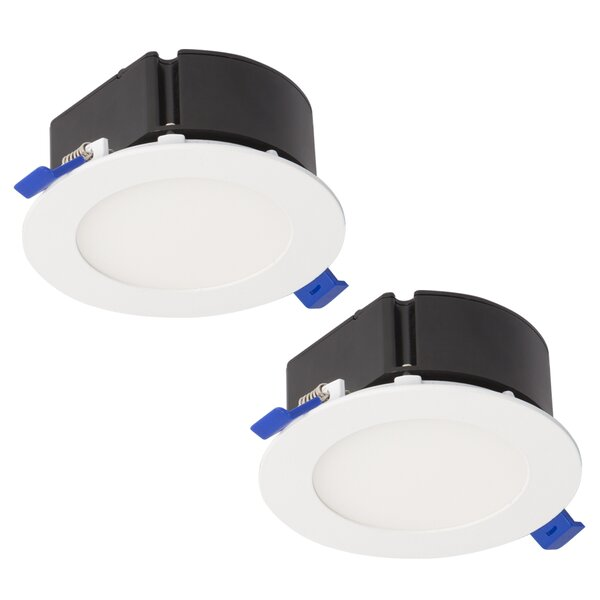Top Box 4 LED Recessed Lighting Kit (Set of 2) by Bazz