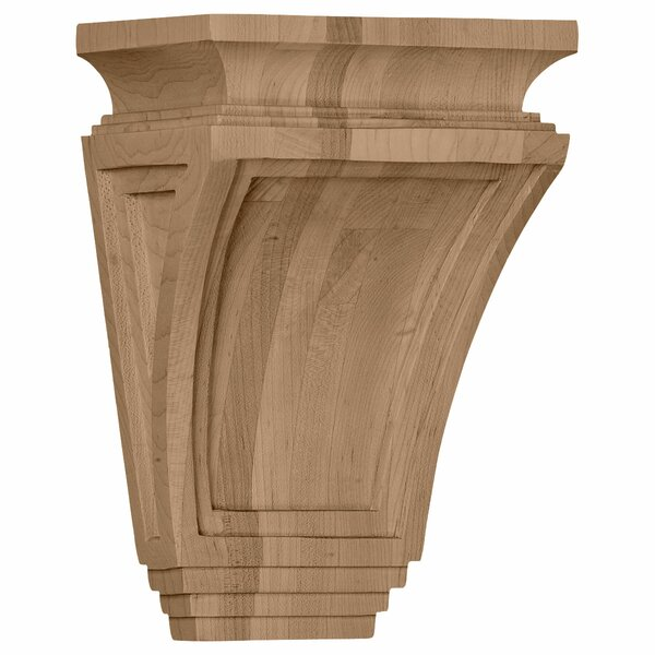 Arts and Crafts 9H x 6W x 4D Corbel in Rubberwood by Ekena Millwork