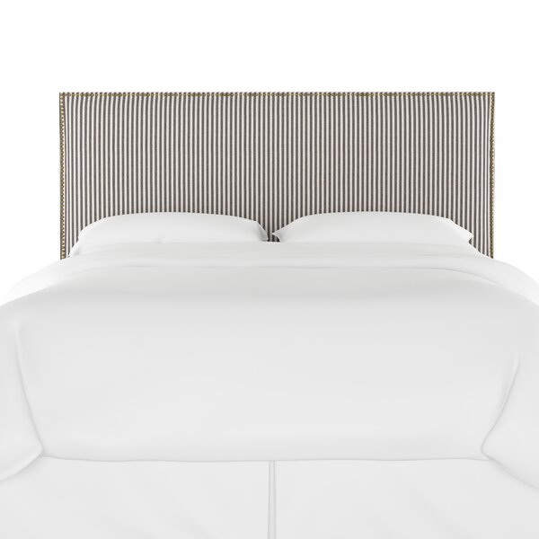 Leah Upholstered Panel Headboard by Longshore Tides