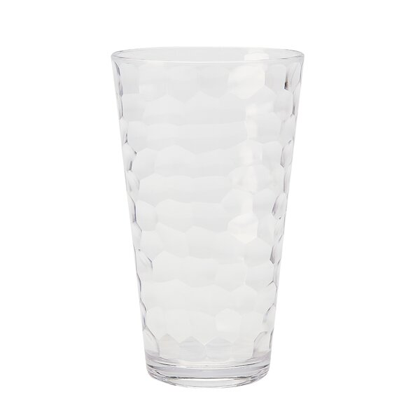 Switzer 23 oz. Plastic Highball Glass (Set of 6) by Highland Dunes