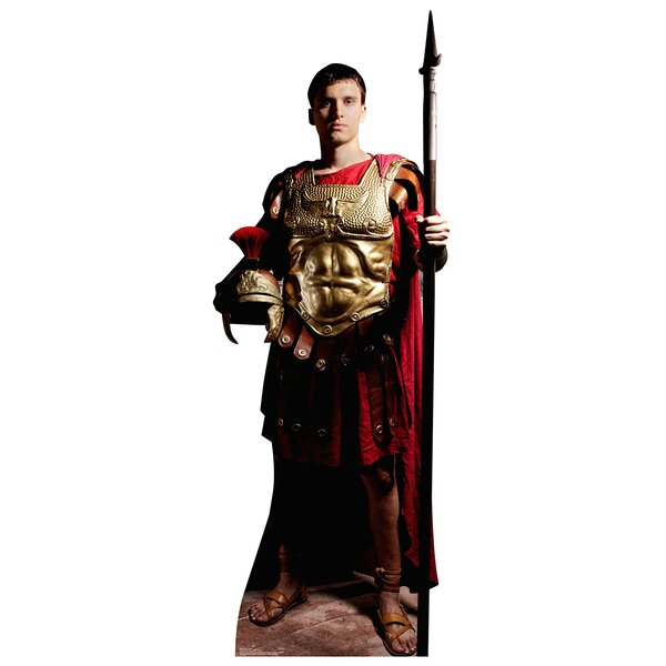Roman Soldier Life Size Cardboard Cutout Standup by Advanced Graphics