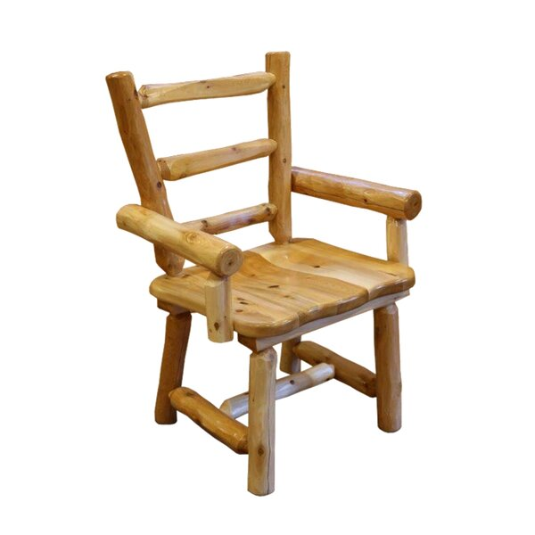 Golding Cedar Solid Wood Dining Chair by Loon Peak