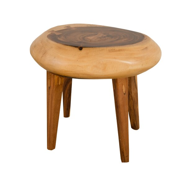 Clifton Wood Accent Stool by Foundry Select