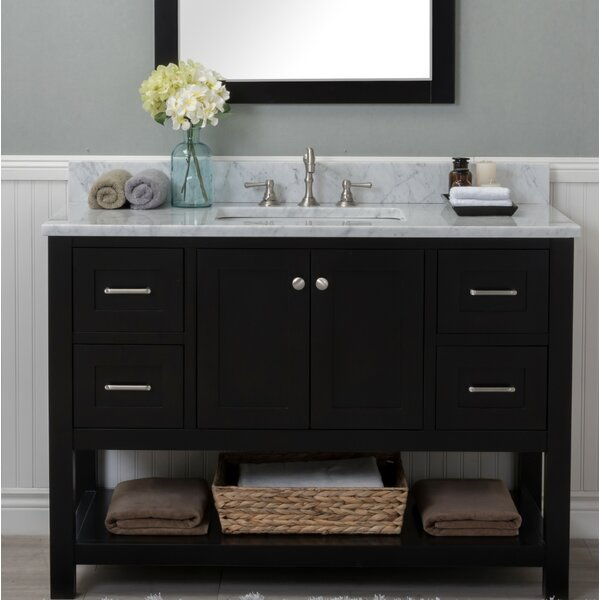 Fredrick 48 Single Bathroom Vanity Set by Charlton Home