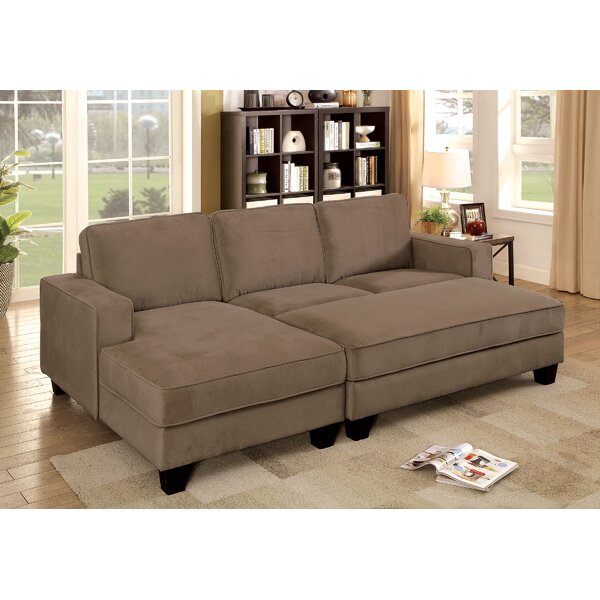 Doolan Left Hand Facing Sectional With Ottoman By Red Barrel Studio