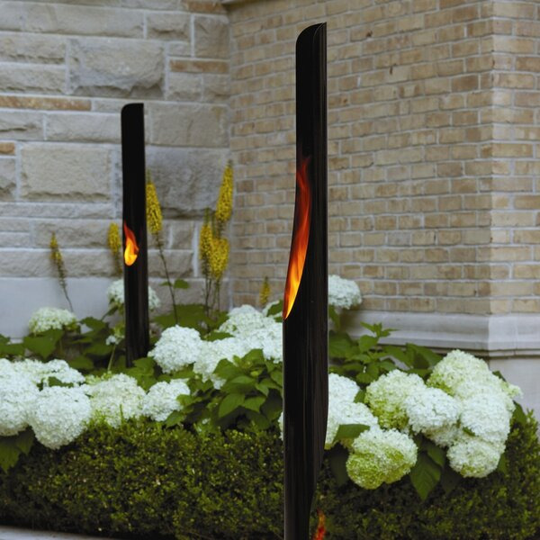 Absolute Steel Garden Torch by Decorpro