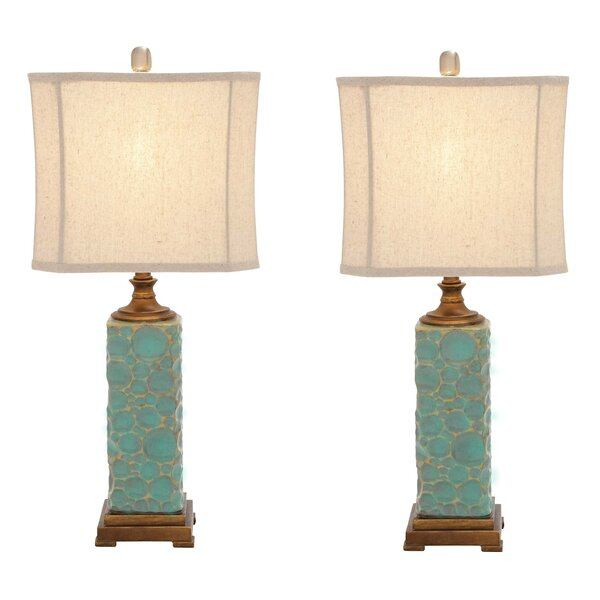 Urban Designs Carmel Seafoam 30 Table Lamp (Set of 2) by EC World Imports