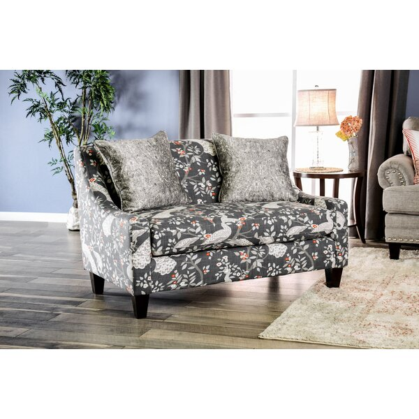 Closeout Makenzie Settee by Red Barrel Studio by Red Barrel Studio
