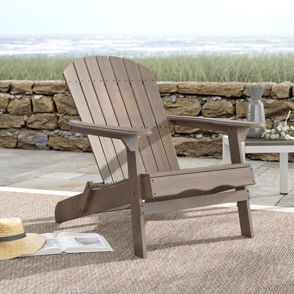 Ridgeline Solid Wood Folding Adirondack Chair by Birch Lane™