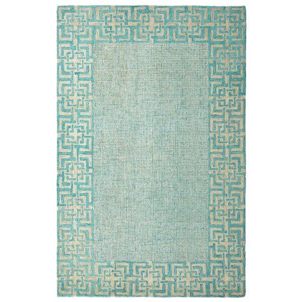 Lexington Hand-Tufted Wool/Silk Lake Area Rug by CompanyC