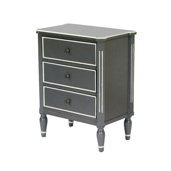 Sunny Side 3 Drawer Accent Chest by Ophelia & Co.