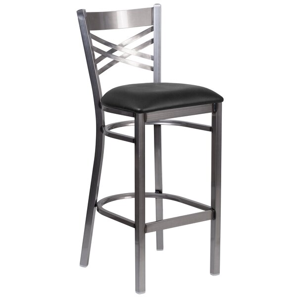 Socorro 31 Black Bar Stool by Zipcode Design