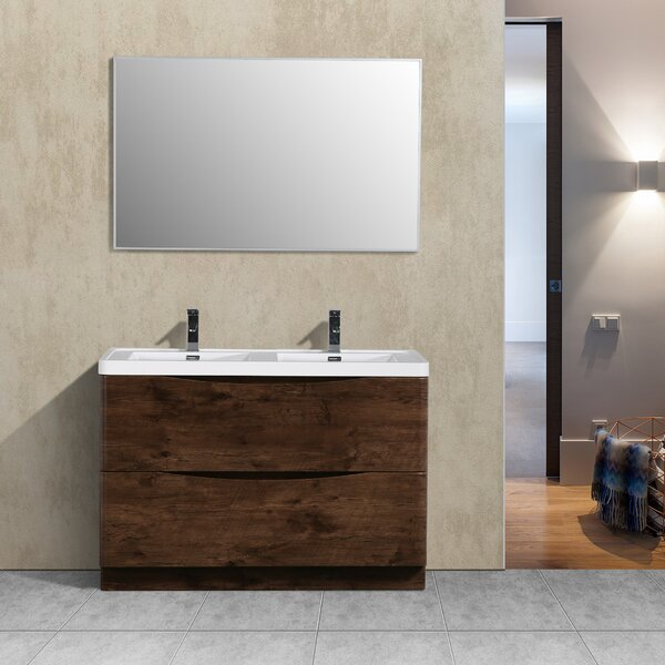 Blondene 48 Double Bathroom Vanity Set by Trent Austin Design